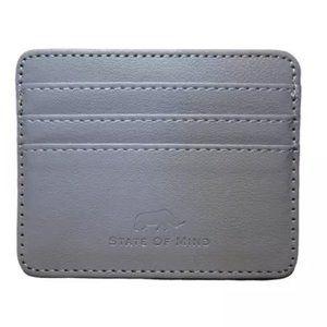 Slim RFID Blocking Vegan Leather Wallet Credit ID